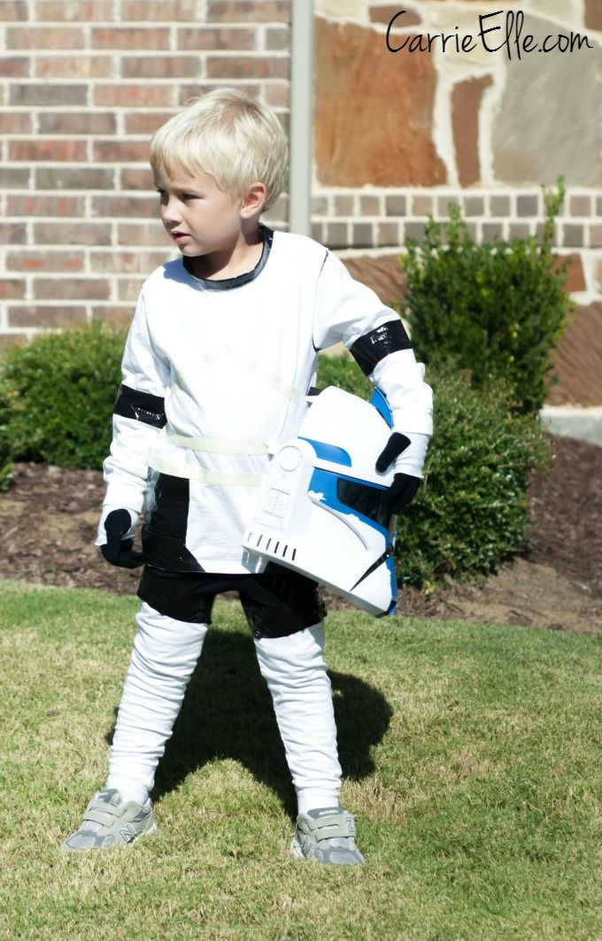 Celebrate the Release of Star Wars Rebels with this DIY Stormtrooper Costume