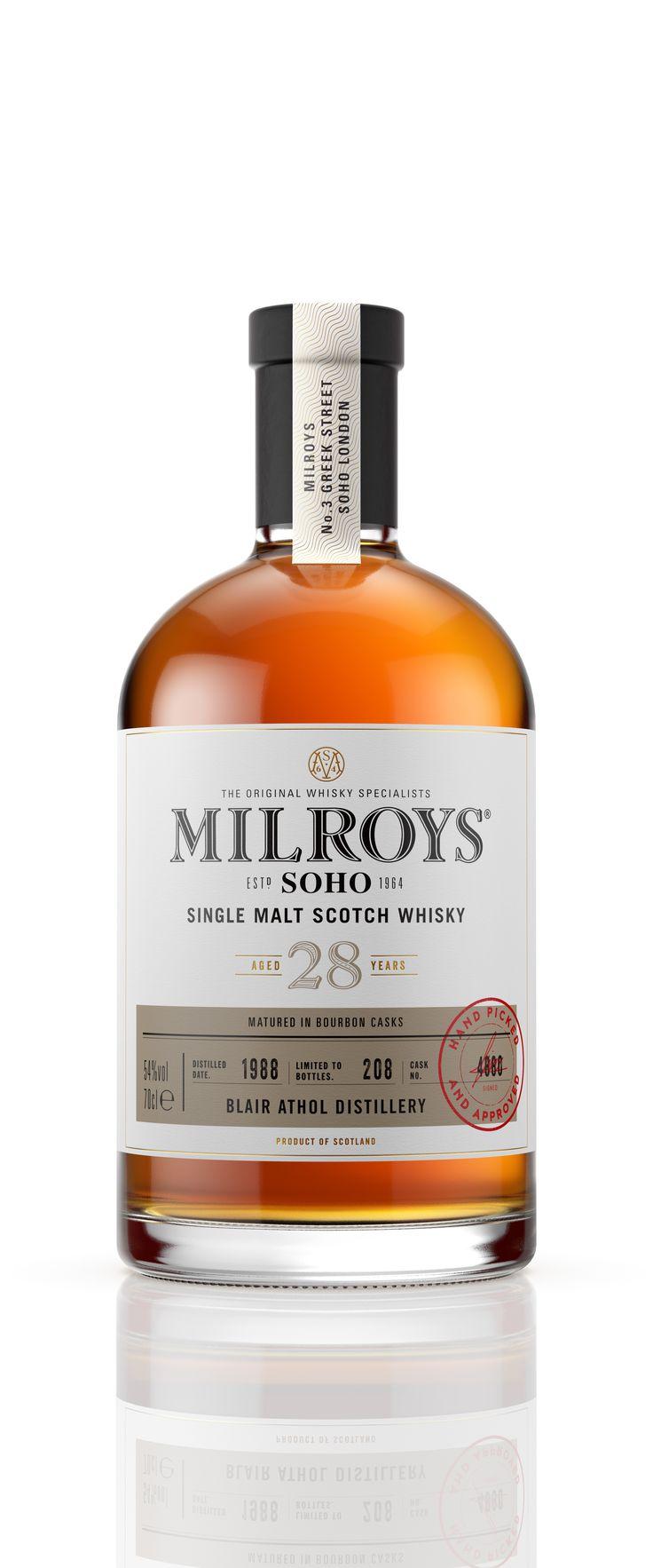 Milroys of Soho Whiskey — The Dieline - Branding & Packaging Design