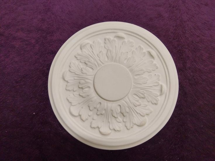 PLASTER CEILING ROSE CP70, SMALL ACANTHUS CEILING ROSE , 325MM, FREE 24HR P & P in Home, Furniture & DIY, Home Decor, Ceiling Roses | eBay!