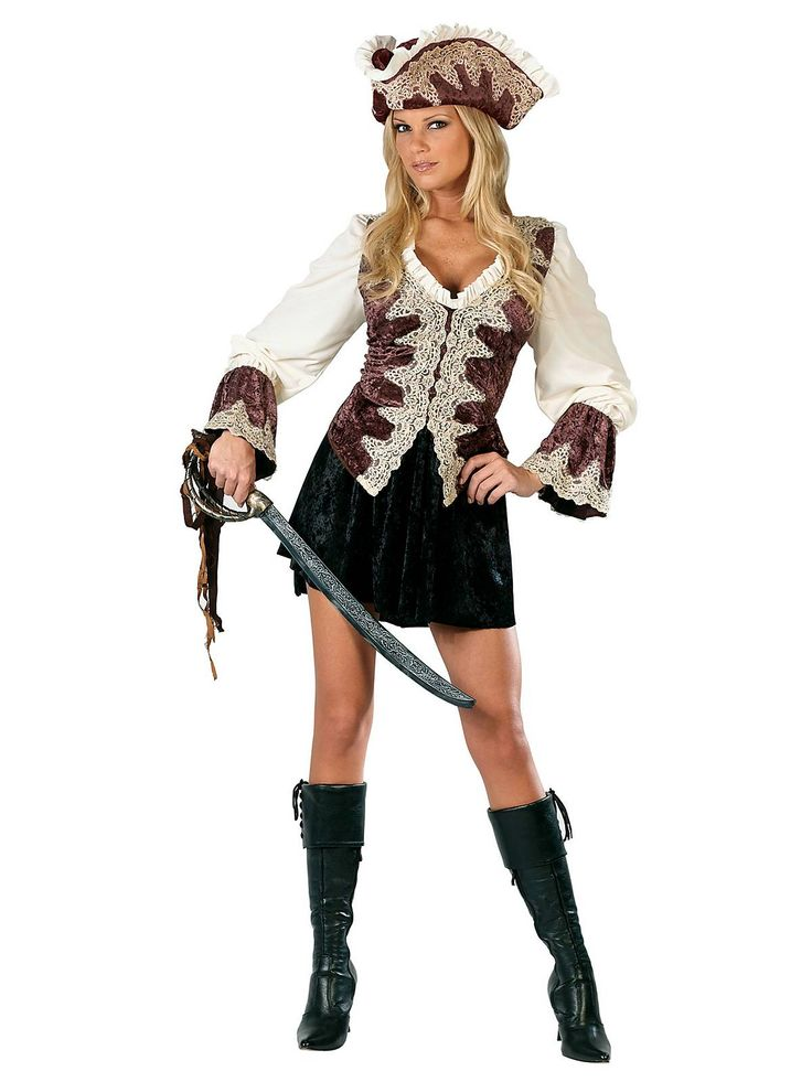 Royal Lady Pirate Adult Costume | Cheap Pirate Costumes for Women