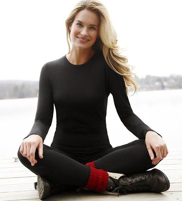 Softwear with Stretch Long Sleeve Crew: