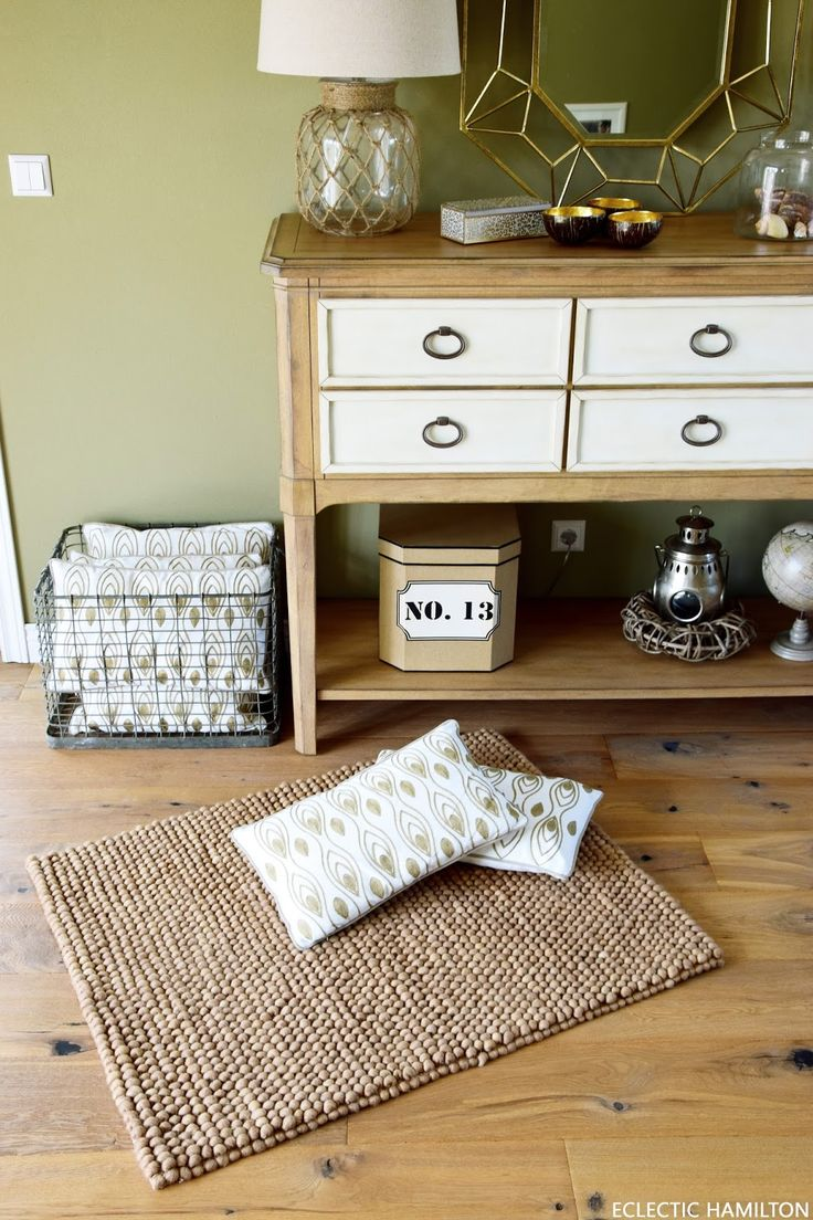 Mein neuer glücklicher Teppich und wollige Deko-Ideen für euch