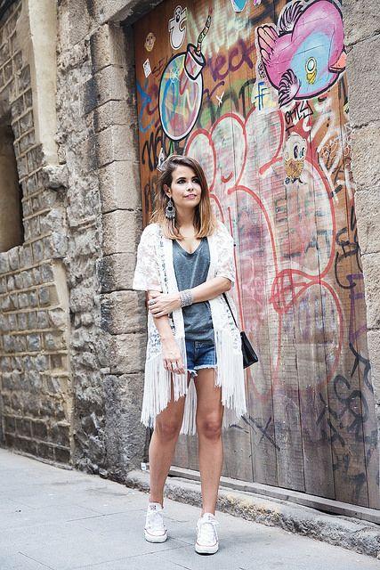 Kimono-Bershka-Barcelona-Converse-Outfit-Sonar-8 by collagevintageblog, via Flickr