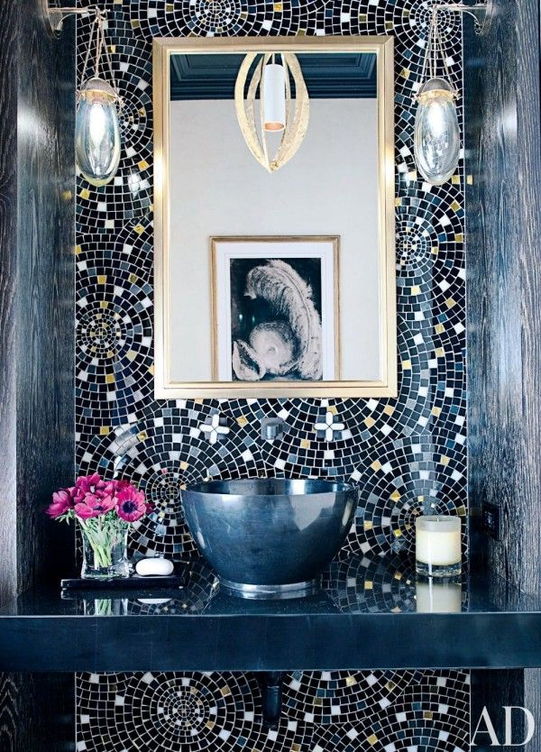 Bathroom Ideas Mosaic best 20+ mosaic bathroom ideas on pinterest | bathrooms, family