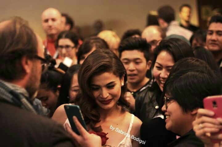 Gorgeus and kind ANNE CURTIS at Far East Film Festival in Udine (movie The Gifted of C. MARTINEZ )ph. By Sabrina Bodigoi
