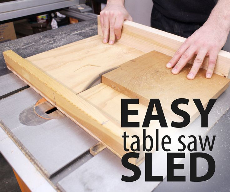 17 best ideas about small table saw on pinterest for Table saw sled