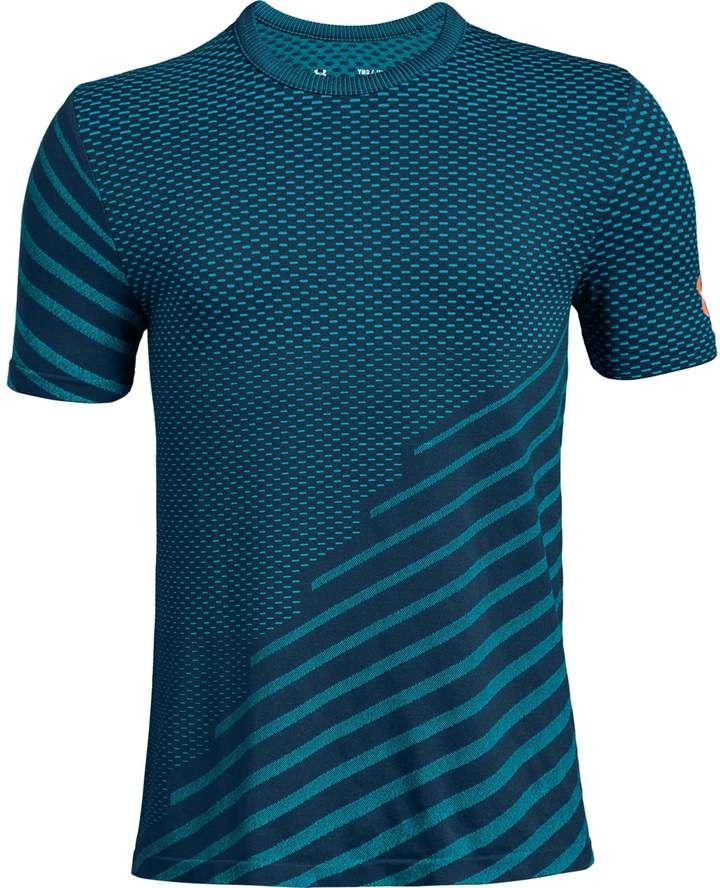 10 S Under Armour Women/'s UA Threadborne Mesh Short Sleeve T-Shirt - Blue