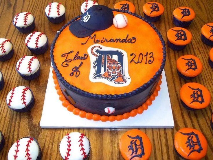 Detroit Tigers cake.