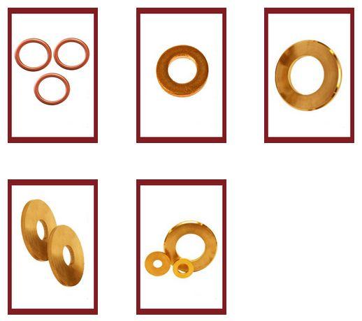 Washers Brass Copper #Washers #BrassWashers  #CopperWashers  #WashersBrassCopper