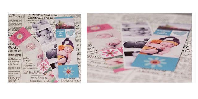 Zakładki do książek ze zdjęciami, bookmarks