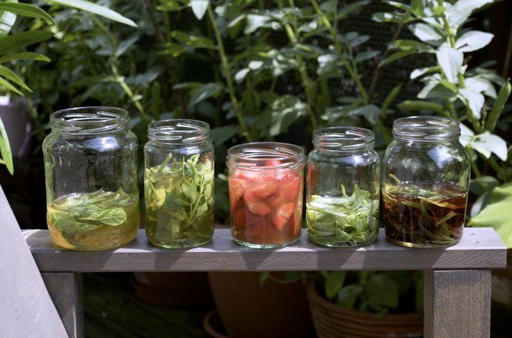 aromatisierter Essig