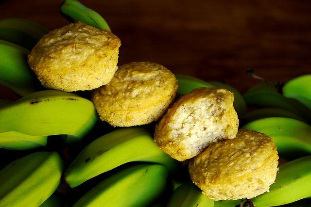 Gluten Free Banana & Coconut Muffins