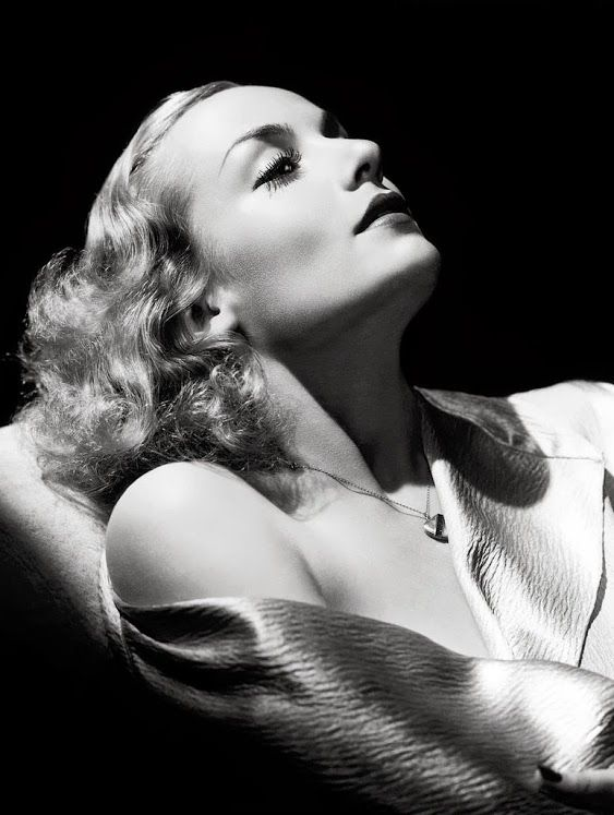 Carole Lombard - Kobal Collection - Photo by George Hurrell - 1930s - http://georgehurrell.com/