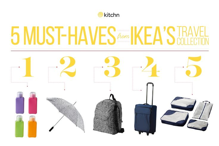 These Are the 5 Must-Haves from IKEA's Travel Collection — Shopping