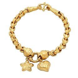 22ct Gold Belcher Link Bracelet