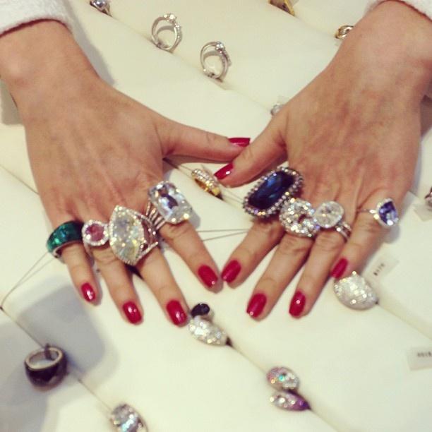 Swarovski jewels | Ring-a-ding RINGS