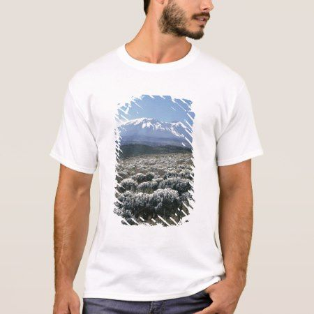 Mount Kilimanjaro, Tanzania. T-Shirt - click to get yours right now!