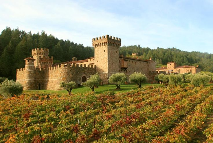 Castello di Amorosa ~ Calistoga, Napa Valley: Dario Sattui (owner of V. Sattui) built a 121,000 square foot Castle to showcase his small lots of of mostly Italian-style wines. Even if you are not a wine enthusiast, this place is definitely worth a visit. It's magnificently beautful.