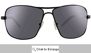 Rookie Large Aviator Sunglasses - 271 Black