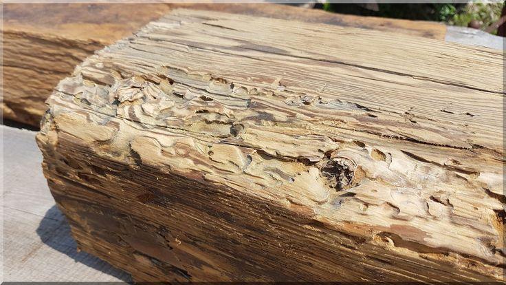 Antik fenyőfa gerenda