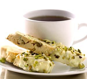 Nutty Biscotti. Nut lovers will savor this Italian cookie. Serve it with coffee for breakfast or as dessert/dcc