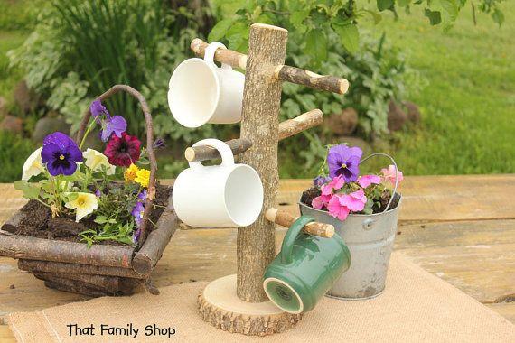 Kitchen Display Coffee Cup Tree Mug Holder by thatfamilyshop