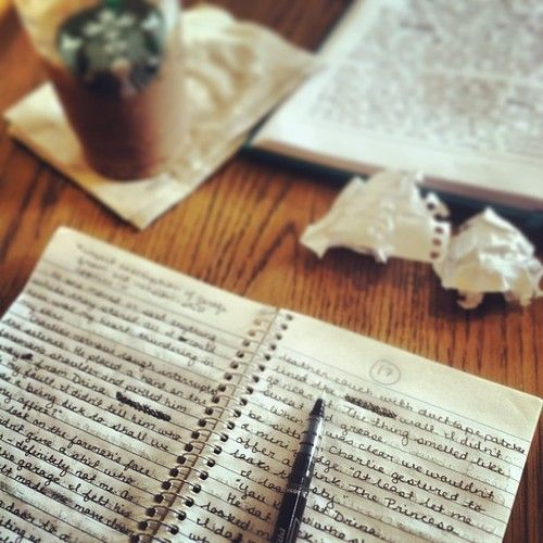 """""""And by the way, everything in life is writable about if you have the outgoing guts to do it, and the imagination to improve. The worst enemy of creativity is self-doubt"""" - Sylvia Plath (Photo by danielle-writes)"""
