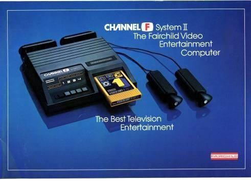 Fairchild Channel F, Fairchild Semiconductor, 1976