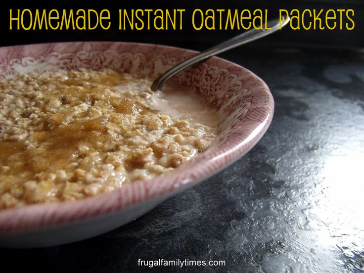 how to make the perfect instant oatmeal