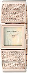 Armani Exchange Women's AX4210 Laine Analog Display Analog Quartz Rose Gold Watch