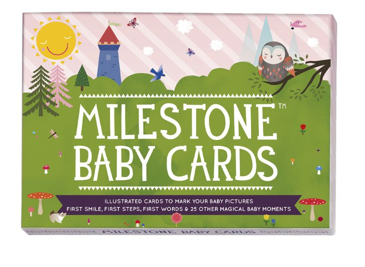 MILESTONE Baby Cards. Set of 30 cards to capture your baby's first year in weeks, months and big events. www.milestonecards.com