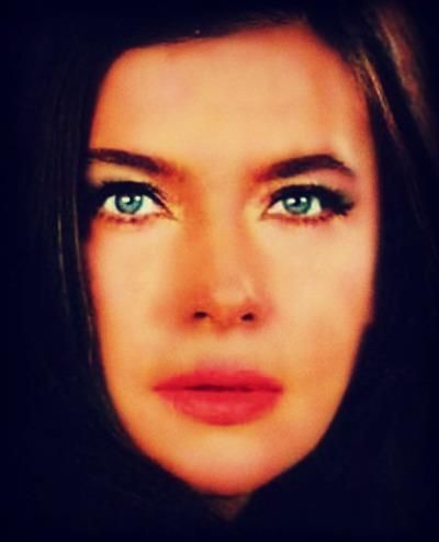 Greek Actress Jenny Karezi.The Prettiest blue eyes of Greek cinema.