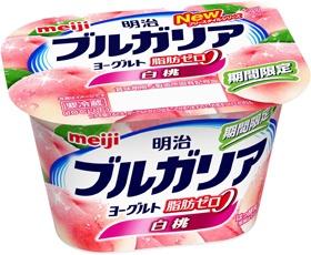 meiji - ブルガリアヨーグルト Peach