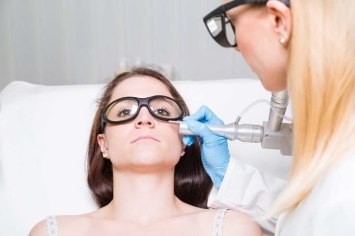 'As a dermatologist, I can offer the ultimate fix, which is to place a little bit of filler under the eyes in order to make the appearance of under-eye bags disappear. I also have lasers that can help tighten the skin and build underlying collagen so that dark circles and under-eye bags are banished.'For at-home techniques, it is a bit more difficult to cover the under-eye bag bulge. Using light-diffusing concealers in this area can help minimize their appearance,' Engelman says.
