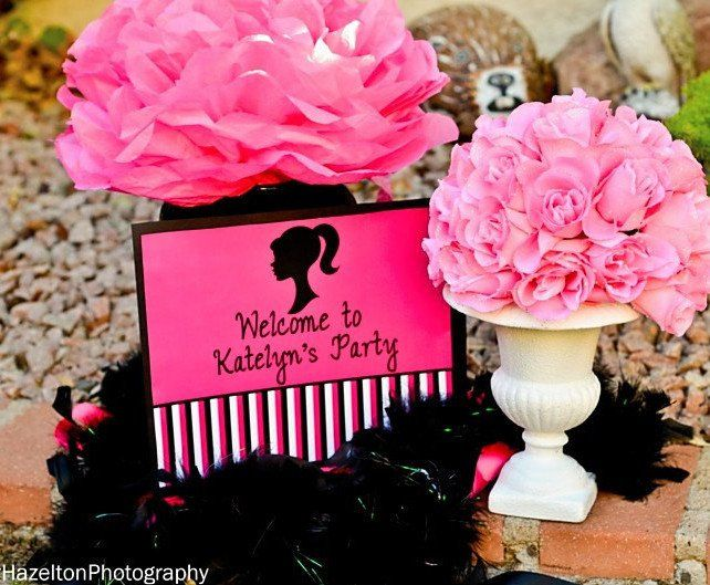 FASHION DIVA Party- Diva Party Printables- WELCOME SIGNS
