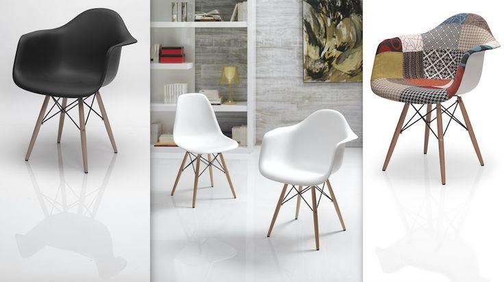 Encuesta Dugar: ¿en blanco, en negro o estampada? #DugarHome #decoración #hogar #interiores #interiorismo #butacas #sillas