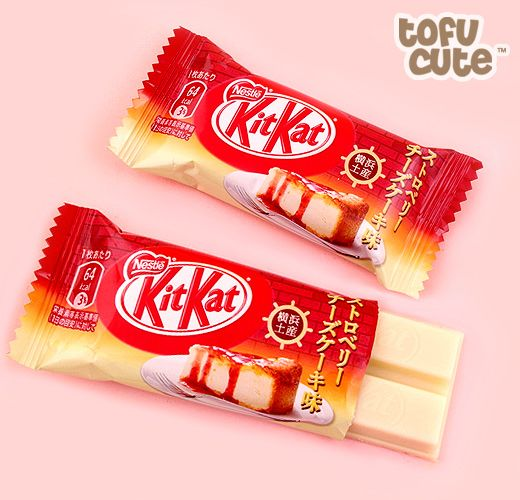 Buy Japanese Kit Kat Strawberry Cheesecake - Set of 2 at Tofu Cute