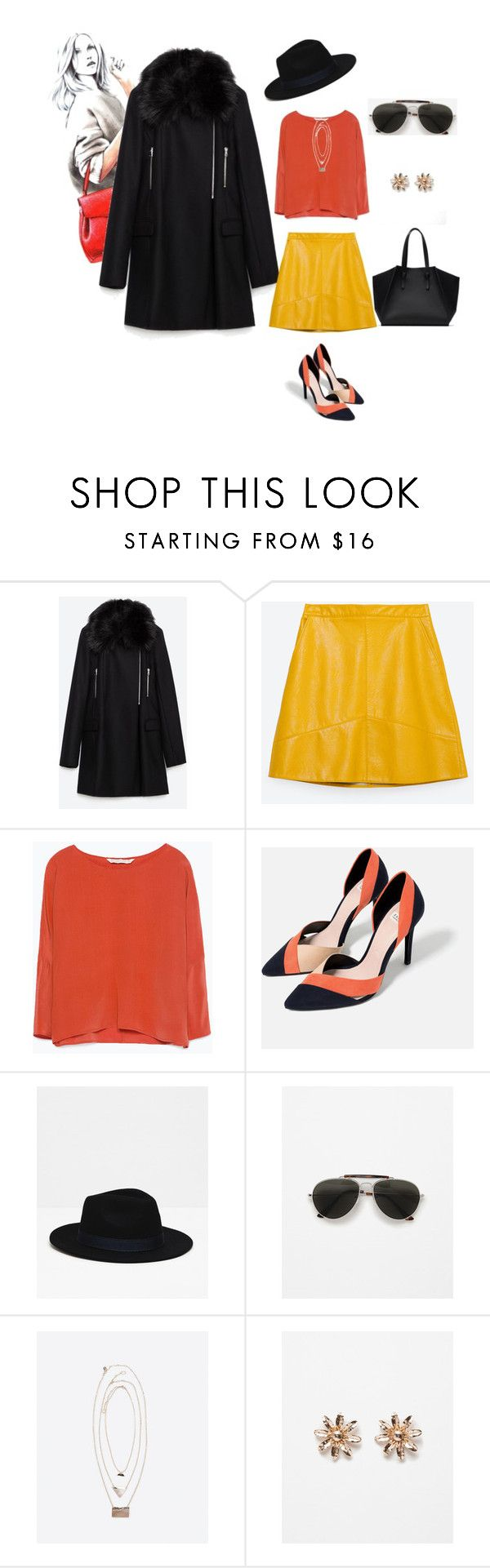 Everything From Zara by southindianmakeup1990 on Polyvore featuring Zara