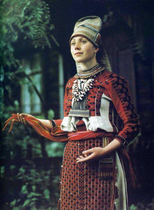 Эрзянский народный костюм | 39 фотографий
