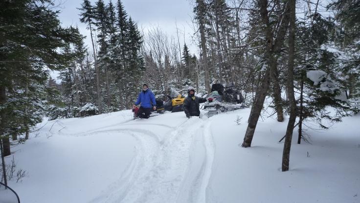 On a bien dit du hors piste...dans de la vraie neige!