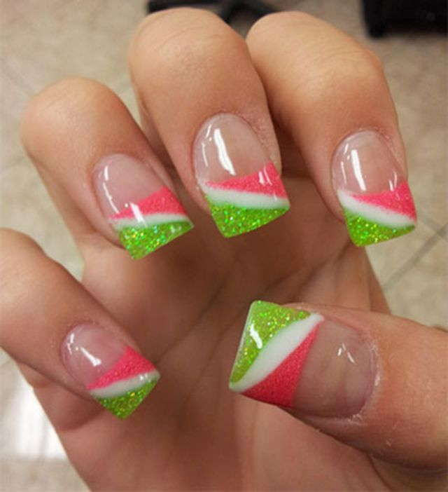 Wild French Tip Nail Designs: 1038 Best Images About French Manicure Nail Designs On