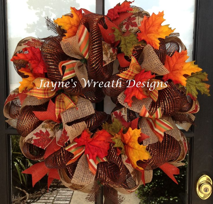 Groovy 33 Best Mesh Ribbon Wreaths For All Holidays Images On Pinterest Easy Diy Christmas Decorations Tissureus