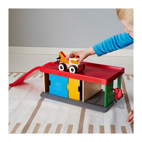 LILLABO ガレージ&レッカー車  - IKEA
