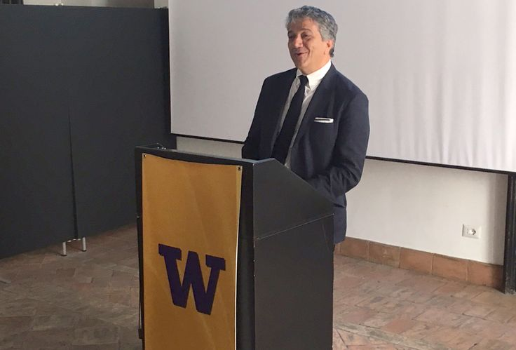 La mia lectio magistralis all'Università di Washington