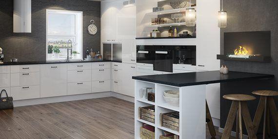 Hvit Høyglans - Velkommen til Strai Kjøkken
