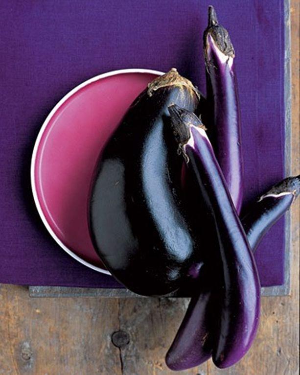 Eggplant Color Schemes: Basic Roasted Eggplant