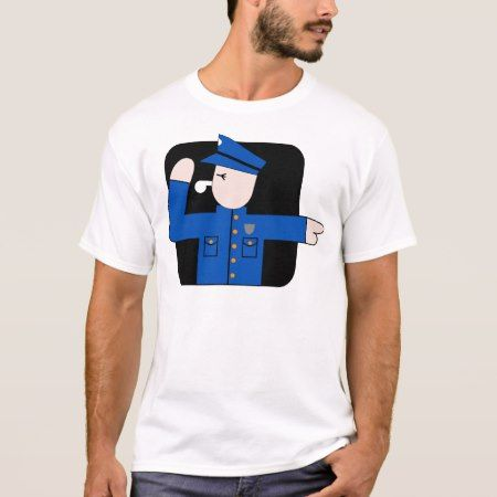Police Man T-Shirt - tap, personalize, buy right now!