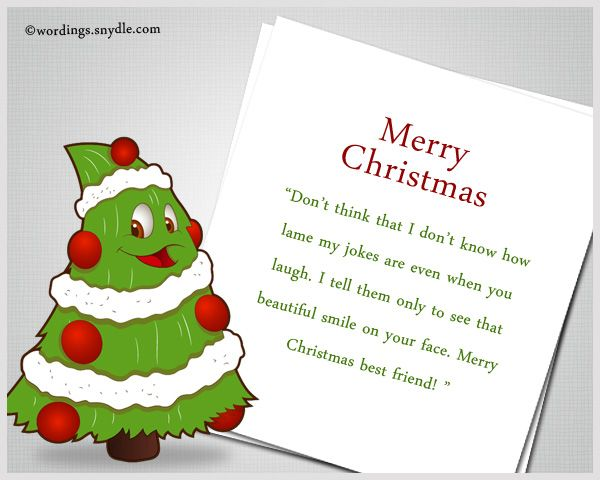 Funny Christmas Greetings For FriendsFunny Christmas Wishes Messages for Friends: Friends are always a gift from heaven. Blood may be thicker than water but sometimes best friends sometimes are family. When Christmas comes, we get undecided on what can best explain what we feel…