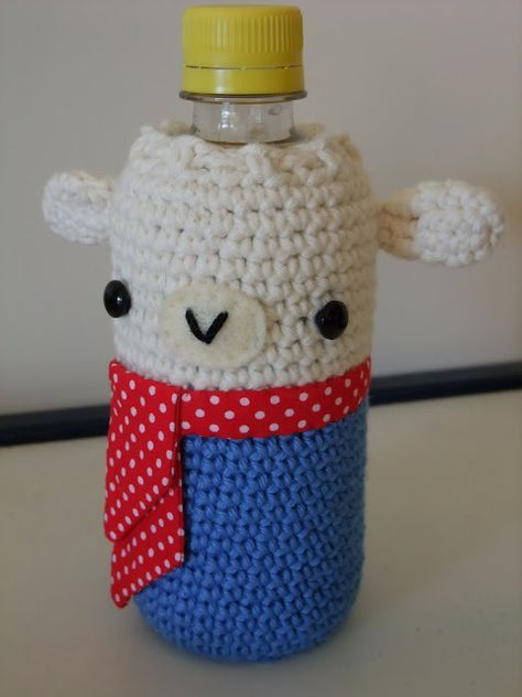26 best sarung botol images on pinterest water bottles crochet how to make a water bottle cosy scroll down the pattern is on the ccuart Image collections