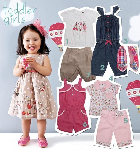 Ackermans toddler girls spring fashion | Cute toddler clothes ...